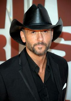Tim McGraw- don't know much about his music but enjoy his acting