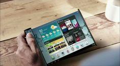 彎曲面板有望打破行動裝置現有型態,Samsung 最快將於 2015 年推出相關產品 - http://chinese.vr-zone.com/89415/samsung-promises-to-deliver-the-devices-with-folding-display-in-2015-11062013/