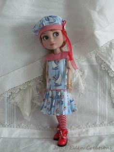 "Patience Tonner 14"" BJD Fashion by JEC Sailor Dress Set OOAK | eBay"