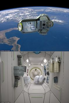 Space hotel room. :)