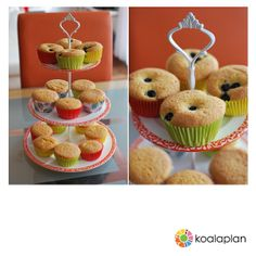 "Blogger inspiration: DIY cake stand by http://www.missxoxolat.at using ""crown white"" (www.koalaplan.com)"