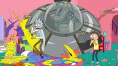 Rick And Morty gets a premiere date and a Simpsons couch gag · Newswire · The A.V. Club