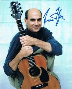 JAMES TAYLOR - Fire and Rain AUTOGRAPH Signed 8x10 Photo