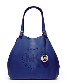 In the navy. MICHAEL Michael Kors Grab Bag
