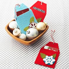 For gift-giving emergencies, dress up a simple gift card with our festive holders! Find the how-to here: http://www.bhg.com/christmas/gifts/cute-and-practical-handmade-christmas-gifts/?socsrc=bhgpin112114giftcardholder&page=6