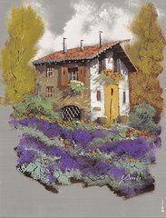 Cento Lavande  by Guido Borelli