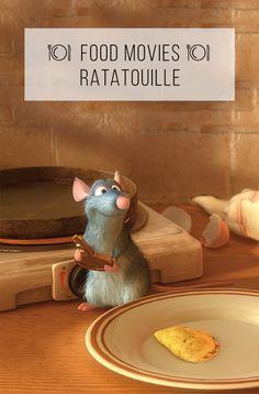 """Um ratinho vira chef de cozinha. A melhor animação sobre comida feita até hoje. Miga, sua loka, como você ainda não viu esse filme? :-)  Para assistir comendo: crepes ou panquecas. Ou ratatouille :-)  Veja o post completo pesquisando por """"Food Movies"""" no site :-)"""