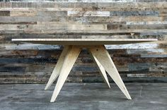 Wooden architectural materials