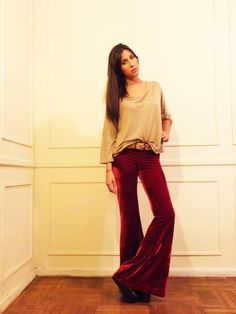 #lookbook #AW #2014 #otoño #invierno #winter #LV #LasVaskas #moda #ropa #fashion #fashionista #oxfordt #terciopelo #sweaterParis #espalda #moño #ootd