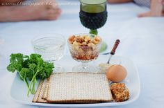 Using symbolic food for a Christian passover/seder meal as an Easter remembrance