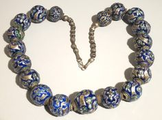 A magnificent strand! The beads are from Pakistan Multan.