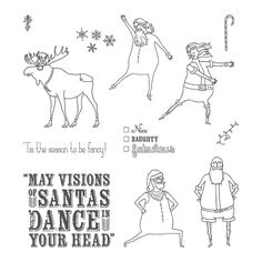 Visions of Santa Photopolymer Stamp Set - by Stampin' Up!