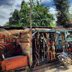 Hardware shop in Haiti