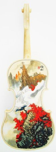 violin art work