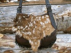 Hunting Pouch by Oliver McClosky~Oliver does some amazing braintanned rendezvous items!!!