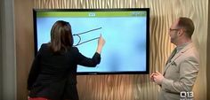 News anchor tries to draw cannon draws oh look     - CNET Technically Incorrect offers a slightly twisted take on the tech thats taken over our lives.  Enlarge Image  You know where this is going dont you? Photo by                                            Fox Q13/YouTube screenshot by Chris Matyszczyk/CNET                                          Live television has its difficulties.  Theres no safety net. There are no do-overs. You say it you do it its out there.  This is something…