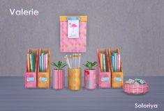 Sims 4. Valerie. #sims4cc #sims4decor #sims4clutter