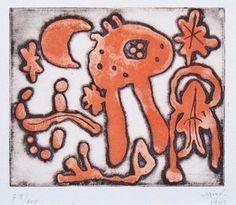 Без названия, 1947, Джоан Миро