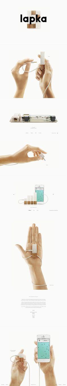 Best Product Sites » Lapka #productDesign #Presentation