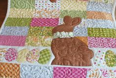 chocolate easter bunny quilt