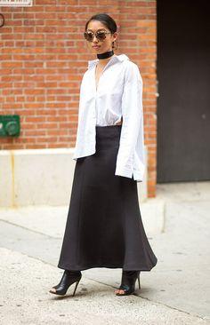 Margaret Zhang. New York Fashion Week, Spring 2016.