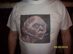 T Shirt Smeagol Hobbit Lord of the Rings by NAESBARGAINBASEMENT