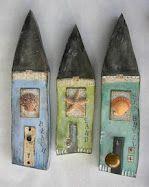 houses by Lisa Kaus