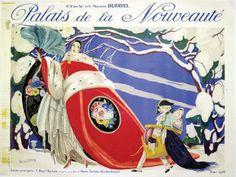 Palais de la Nouveauté *  Hiver 1924. Magasins Dufayel BRUNELLESCHI