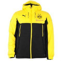 Jacheta Puma Borussia Dortmund Bench Barbati - Geci Barbati, Barbati, PUMA