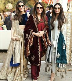 Love these outfits Indian Attire, Indian Ethnic Wear, Indian Outfits, Pakistani Wedding Outfits, Indian Designer Outfits, Designer Dresses, Desi Clothes, Pakistani Dress Design, Indian Couture