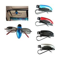 New Car Auto Accessory Sun Visor Sunglasses Eye Glasses Card Pen Holder Clip