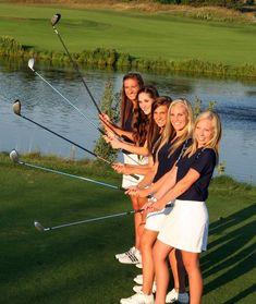 Team / Group Portrait / Photo / Picture Idea - Golf