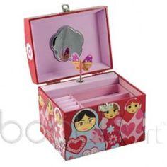 Bobble Art Babushka Jewellery Box