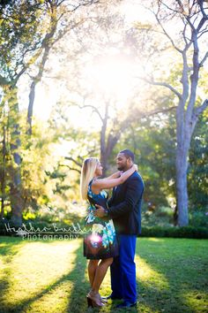 Chanel + Harold | Dallas Arboretum Engagement Session | Dallas Wedding Photographer | Heather Buckley Photography