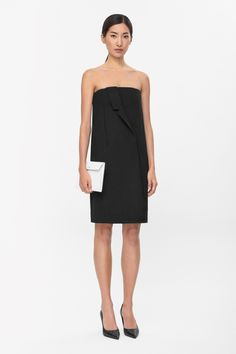 COS | Draped lapel dress