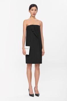 COS   Draped lapel dress