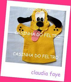 CASINHA DO FELTRO: fantoches e dedoches