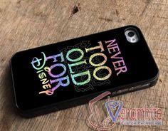 Disney Quotes Iron Phone Case For iPhone 4/4s Cases, iPhone 5 Cases, iPhone 5S/5C Cases, iPhone 6 cases