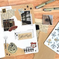 Enjoy these 12 magical Harry Potter bullet journal spreads that will inspire you. Enjoy these 12 magical Harry Potter bullet journal spreads that will inspire you. Bullet Journal Harry Potter, Bullet Journal Tools, Bullet Journal Spread, Bullet Journal Layout, Bullet Journal Ideas Pages, Bullet Journals, Book Journal, Bullet Journal September Cover, Hogwarts Library