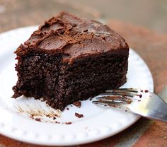 Quinoa Chocolate Cake  2/3 cup white or golden quinoa 1 1/3 cup water 1/3 cup milk 4 large eggs 1 tsp vanilla extract 3/4 cup butter, melted and cooled 1 1/2 cups sugar 1 cup cocoa powder 1 1/2 tsp baking powder  1/2 tsp baking soda 1/2 tsp salt Preheat the oven to 350. Grease and parchment paper two 9 (or 8) inch cake pans. Rinse the