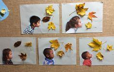 A cute autumn craft for kids . A cute fall craft for kindergarten and child of the first class . Thanksgiving Crafts For Kids, Autumn Crafts, Easy Christmas Crafts, Autumn Art, Halloween Crafts, Fall Crafts For Toddlers, Toddler Crafts, Kids Crafts, Fall Preschool