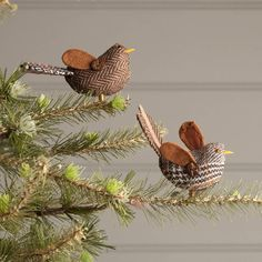 tweed christmas robin by the contemporary home | notonthehighstreet.com