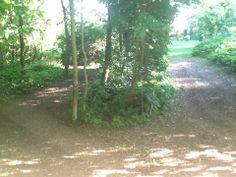Gronings slingerpaadje in de tuin, zo leuk om tikkertje te doen