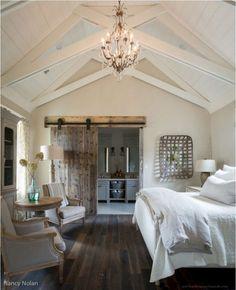 60 Rustic Farmhouse Style Master Bedroom Ideas 17