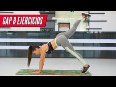 GAP: Glúteos, piernas y abdominales fuertes | Legs, Butt & Abs Workout - YouTube