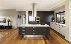idea per arredare cucine moderne piccole, con isola a l centrale con ...