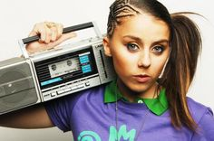 lady sovereign: 90's idol and side pony enthusiast.