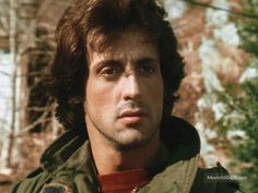 A gallery of First Blood publicity stills and other photos. Featuring Sylvester Stallone, Brian Dennehy, Richard Crenna, Jack Starrett and others. Great Films, Good Movies, I Movie, Movie Stars, Sylvester Stallone Rambo, Act Of Valor, Silvester Stallone, The Fall Guy, Saving Private Ryan