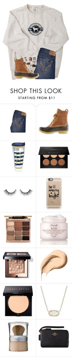 """lol this so sloppy and my phone is on 1%"" by hgw8503 ❤ liked on Polyvore featuring Hollister Co., L.L.Bean, Tervis, Anastasia Beverly Hills, Casetify, Stila, Fresh, Bobbi Brown Cosmetics, Kendra Scott and L'Oréal Paris"