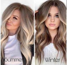 Blonde Hair With Highlights, Brown Blonde Hair, Bright Blonde, Blonde Ombre, Light Brunette Hair, Blonde Honey, Honey Balayage, Brunette Color, Brown Balayage